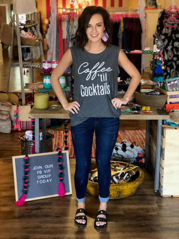 The Coffee Til Cocktails Tank