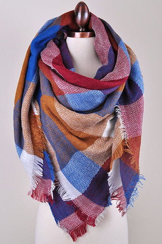 Bold Blanket Scarves - 2 colors