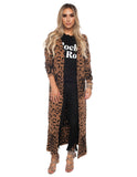 The Leopard Luxe Thick Cardigan