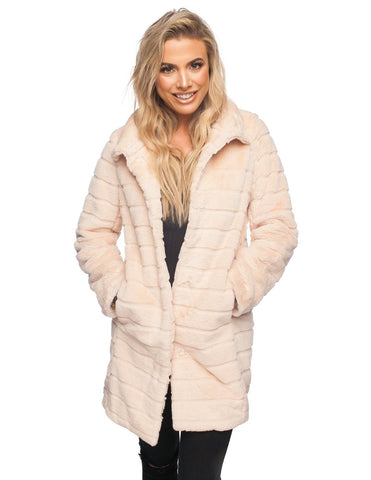 The Vargas Coat in Cream