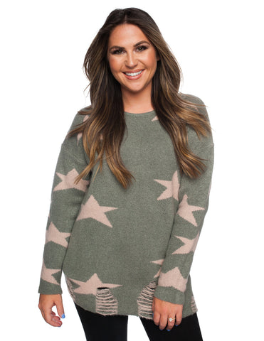 The Stars Collide Sweater