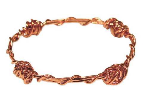 Barbed Wire Rose Bracelet