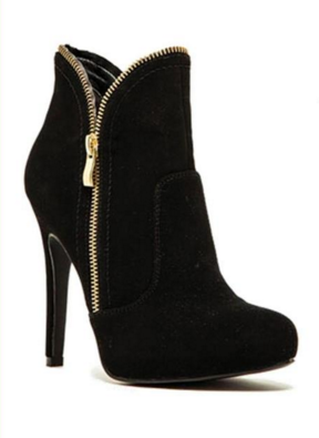 Super Soft Zipper Bootie