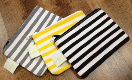 Small Striped Bag