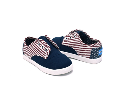 Americana Canvas Flag TOMS - Tiny
