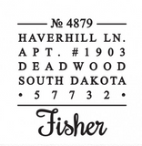 The Fisher Stamp
