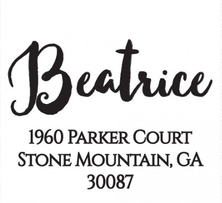 The Beatrice Stamp