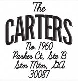 The Carter Stamp