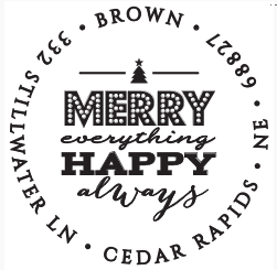 The Merry Always Stamp