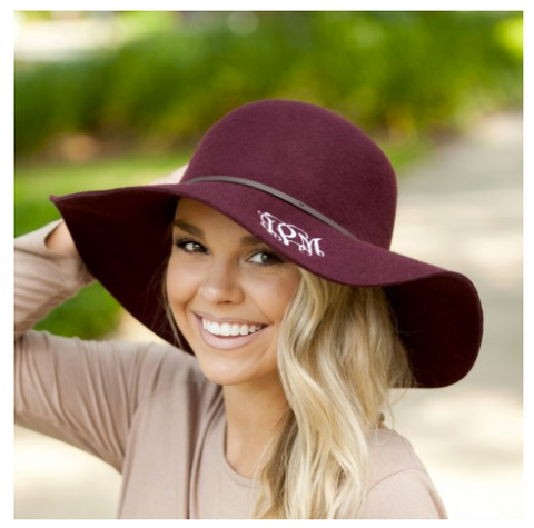 Wool Floppy Hat-3 Colors