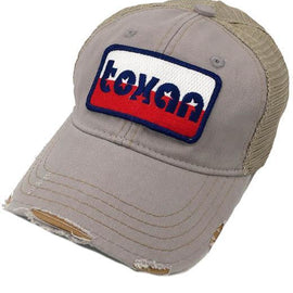 - Lone Star Texan Patch Hat in Grey