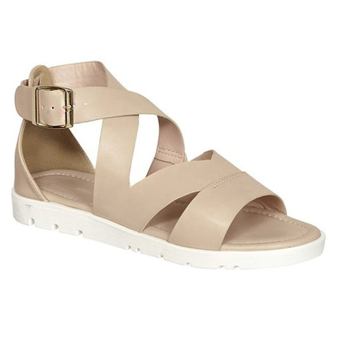 The Gabe Sandals in Nude
