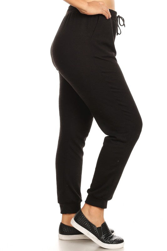 The Curvy Joggers in 2 Colors