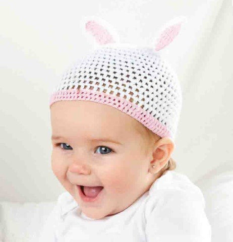 Bunny Hat in Pink or Blue