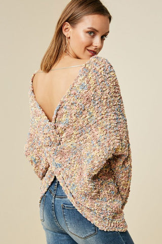 The Confetti Plunge Sweater
