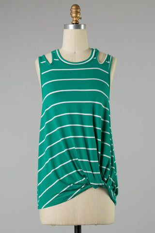 Stripes on the Green Tank