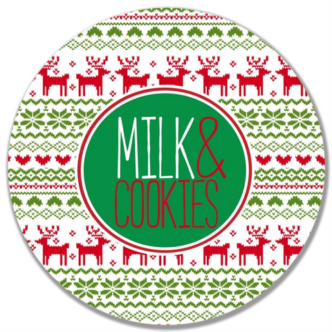 Christmas Sweater Plate