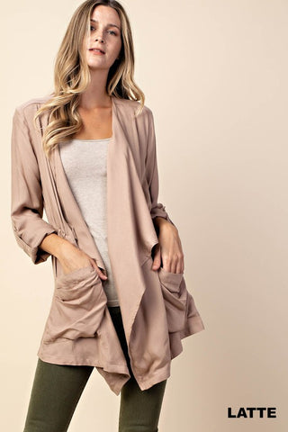 The Trendy Twill Jacket-2 Colors