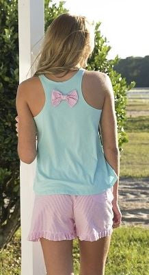 Bow Tank in blue