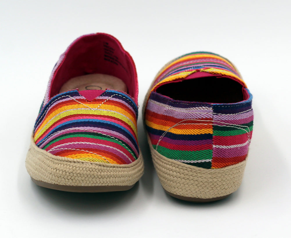 Freedom Slip-On's in Rainbow