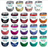 Stemless Wine Cup-17 colors