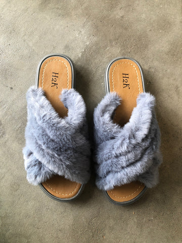 Crisscross Slippers