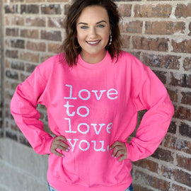 -The Love To Love Ya Pullover