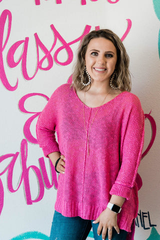 The Maggie Sweater-6 Colors