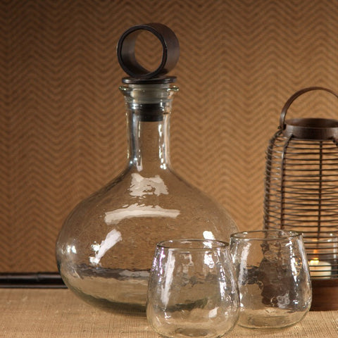 Hammered Decanter