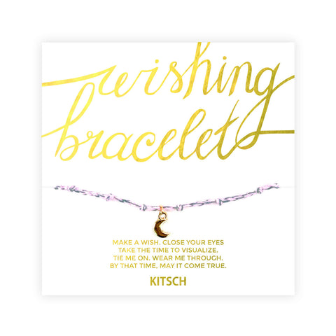 Wishing Bracelet-Moon