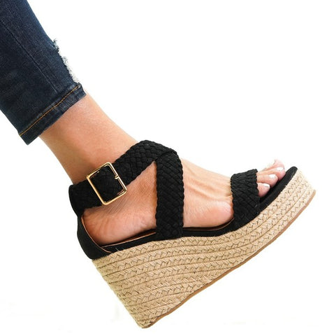 Mystery Espadrilles in 2 colors
