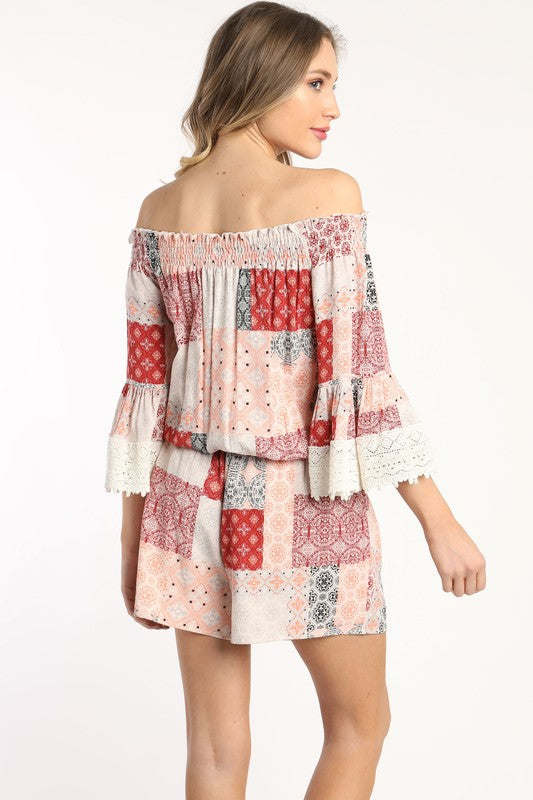 The Patchwork Romper