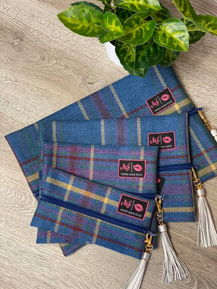 -Preppy Plaid MJ Bags