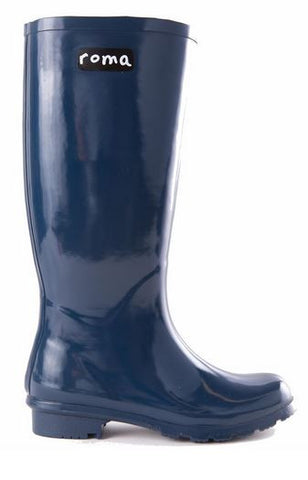 Emma Boots in Navy