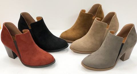 The James Booties-3 Colors