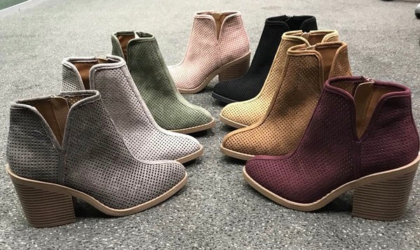 Trend Setter Booties-3 Colors