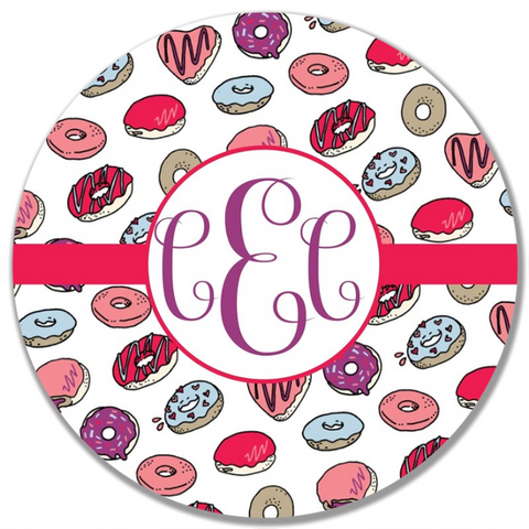 Love Donuts Plate