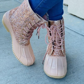 Glitter Duck Boots-2 Colors