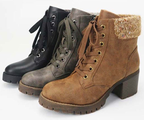 The Combat Boot in 2 Colors