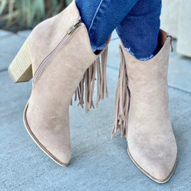 The Kinsley Taupe Boots
