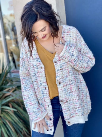 - The Tinsel Cardigan