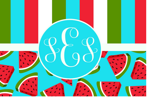 Watermelon Delight Placemat