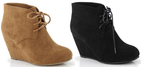 Soft Suede Ankle Booties