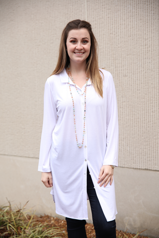 Button Down Tunic