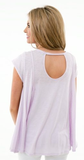 Burn Out Scoop Trapeze Top