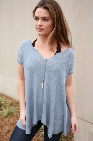Burn-Out Trapeze Tunic
