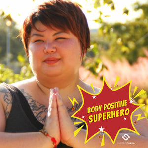 Body Positive Superhero: LAURA BURNS, Radical Body Love