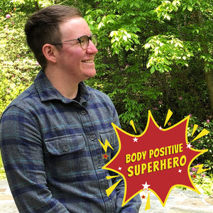 Body Positive Superhero Asher Freeman of Nonnormative Body Club