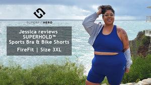Plus Size Leggings Review - Superfit Hero x Jessica Rihal
