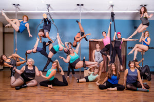 Superfit Hero Body Positive Fitness Studio Defy Gravity Pole Fitness and Aerial Arts